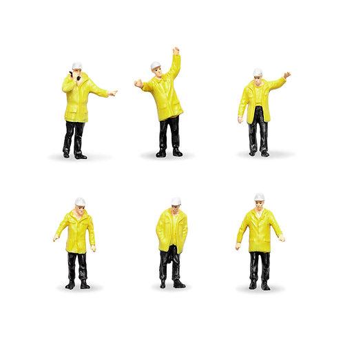 Figuras de Trabajadores - Amarillo