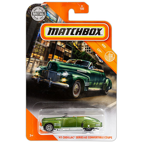 MBX CITY - '41 Cadillac Series 62 Convertible Coupe