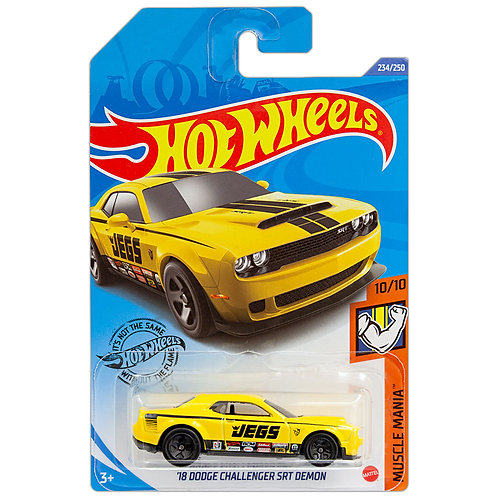 MUSCLE MANIA - '18 Dodge Challenger SRT Demon (amarillo)