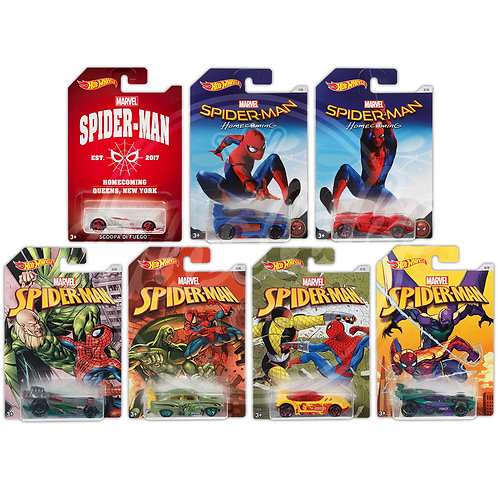 SPIDER-MAN Homecoming COLLECTION (7 Pack)