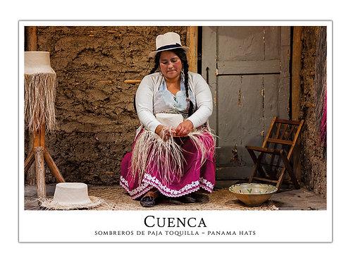 Cuenca - Sombreros de Paja Toquilla I
