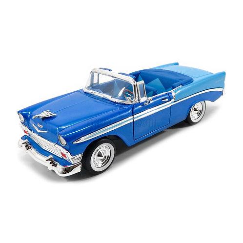 1956 Chevrolet Bel Air Convertible (azul)