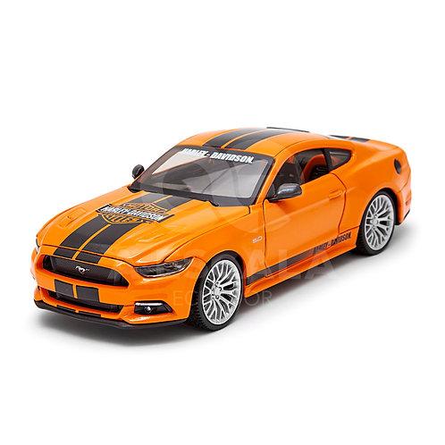 HARLEY-DAVIDSON - 2015 Ford Mustang GT (naranja)