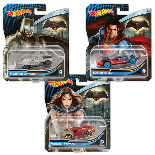 BATMAN vs SUPERMAN COLLECTION (3 Pack)