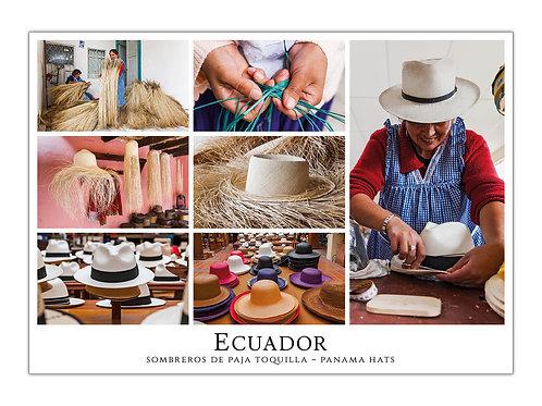 Ecuador - Sombreros de Paja Toquilla