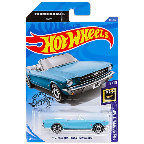 HW SCREEN TIME - '65 Ford Mustang Convertible