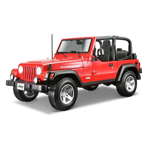 Jeep Wrangler Rubicon (rojo)