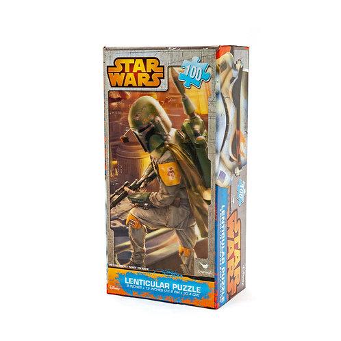 Rompecabezas Lenticular 3D - Star Wars: Boba Fett