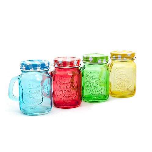 Mini Mason Jars - Colores