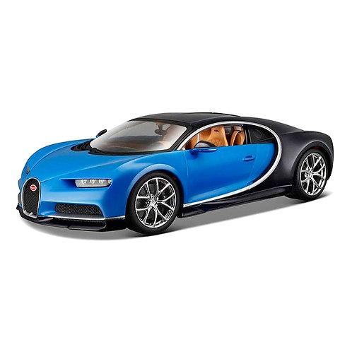 Bugatti Chiron (azul)