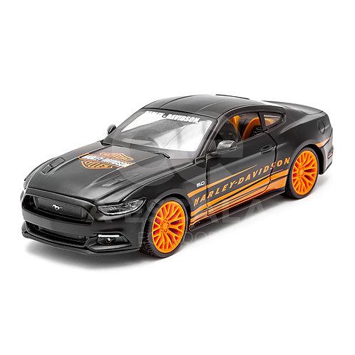 HARLEY-DAVIDSON - 2015 Ford Mustang GT (negro)