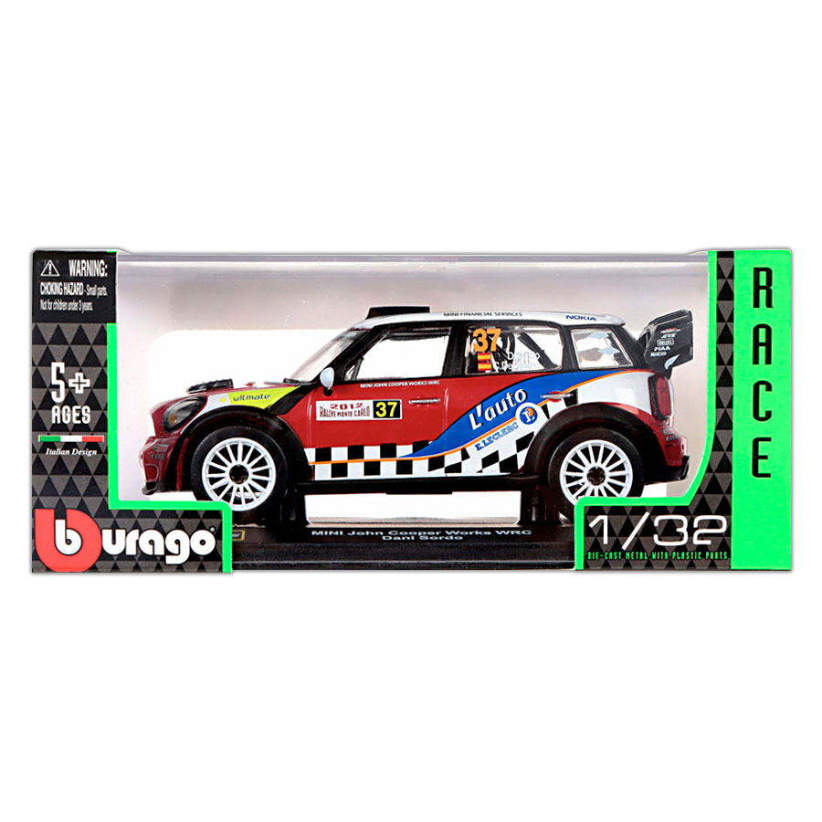 Mini John Cooper Works WRC #37 Dani Sardo