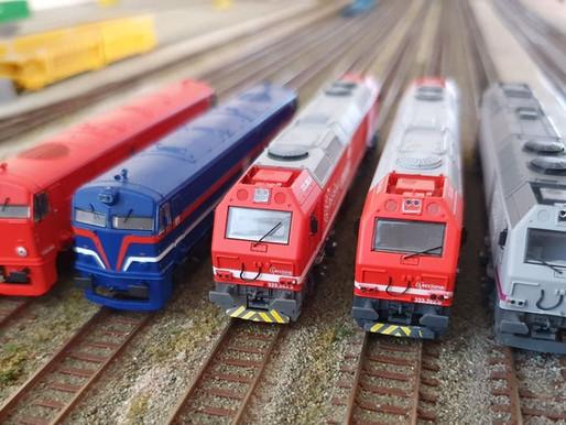 Las escalas del modelismo ferroviario