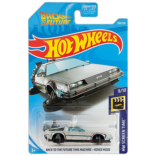 HW SCREEN TIME - Back to the Future Time Machine - Hover Mode