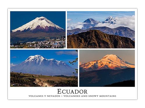 Ecuador - Montañas y Nevados