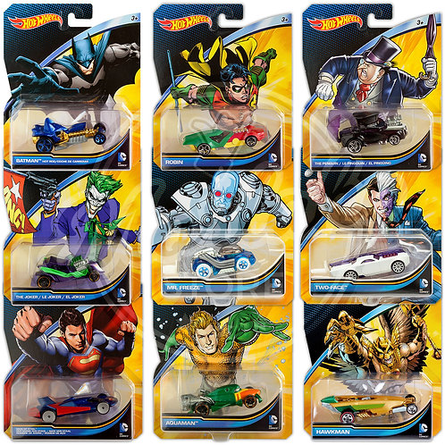 DC COMICS UNIVERSE COLLECTION (9 Pack)