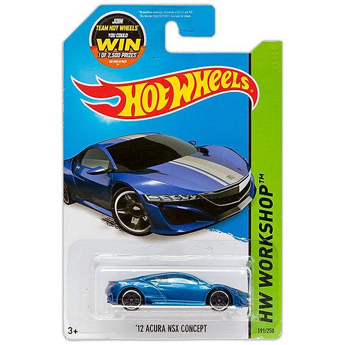 HW WORKSHOP - '12 Acura NSX Concept