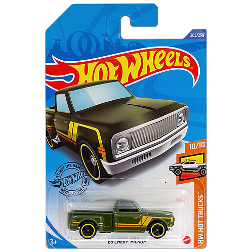 HW HOT TRUCKS - '69 Chevy Pickup (verde)