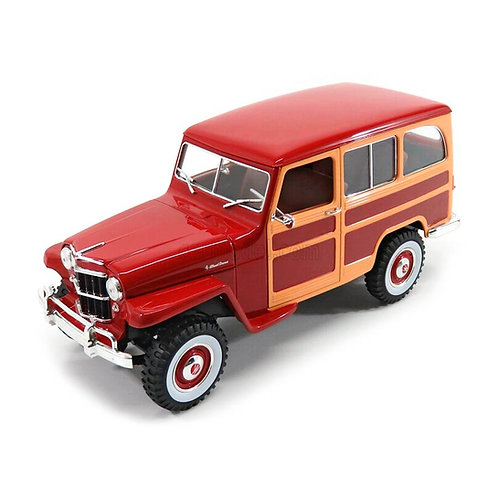 1955 Jeep Willys Station Wagon (rojo/madera)