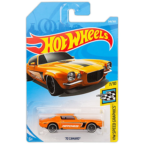 HW SPEED GRAPHICS - '70 Camaro (Orange)