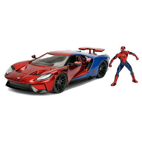 Spider-Man & 2017 Ford GT
