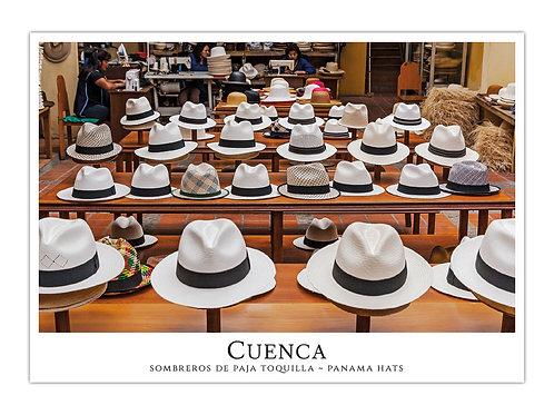 Cuenca - Sombreros de Paja Toquilla II