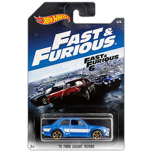 FAST & FURIOUS 6 - '70 Ford Escort RS1600