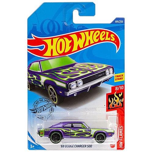 HW FLAMES - '69 Dodge Charger 500