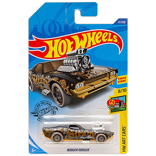 HW ART CARS - Roger Dodger