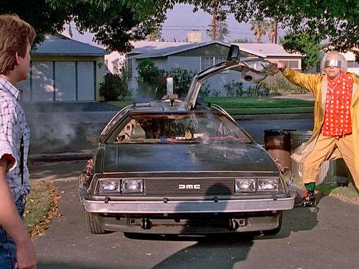 Back to the Future 'DeLorean Time Machine'