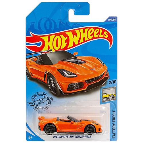FACTORY FRESH - '19 Corvette ZR1 Convertible (naranja)