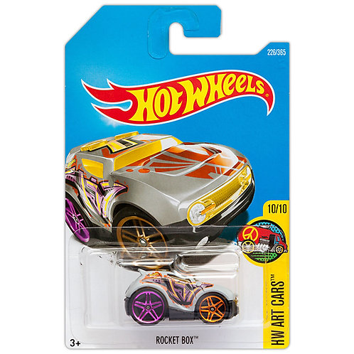 HW ART CARS - Rocket Box