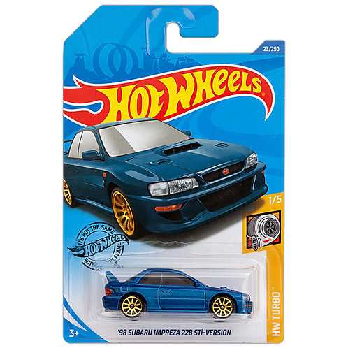 HW TURBO - '98 Subaru Impreza 22B STi Version
