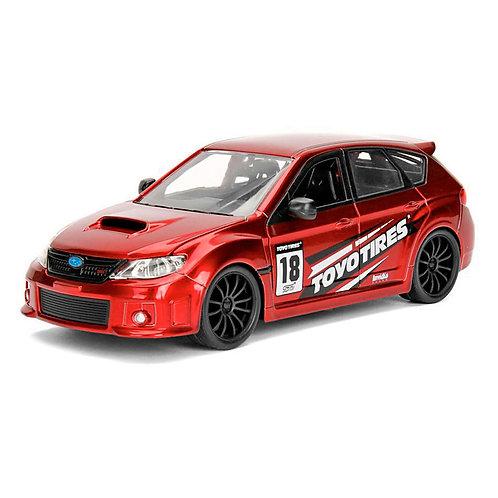 2012 Subaru Impreza WRX STI (rojo)