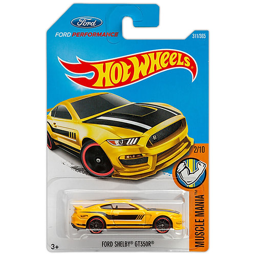 MUSCLE MANIA - Ford Shelby GT350R (Amarillo)