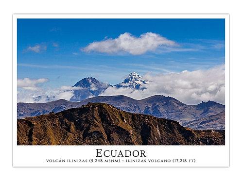 Ecuador - Volcán Ilinizas