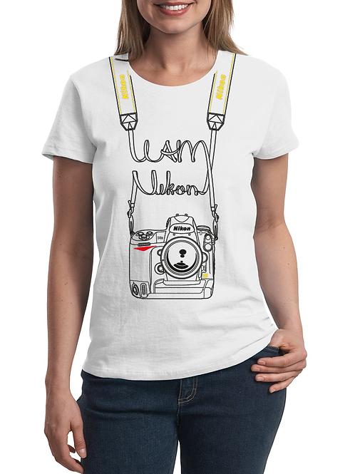 Camiseta 'I am Nikon' (Mujer)