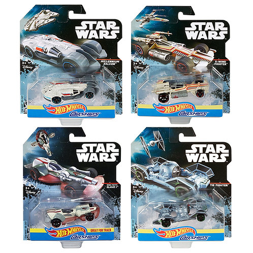 STAR WARS - CARSHIPS COLLECTION (4 Pack)