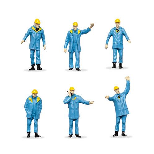 Figuras de Trabajadores - Celeste