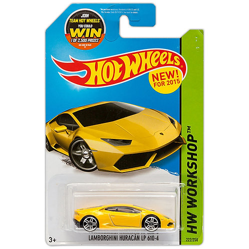 HW WORKSHOP - Lamborghini Huracán LP 610-4