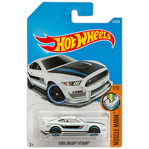 MUSCLE MANIA - Ford Shelby GT350R (Blanco)