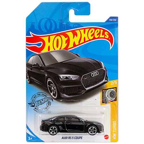 HW TURBO - Audi RS 5 Coupe (negro)
