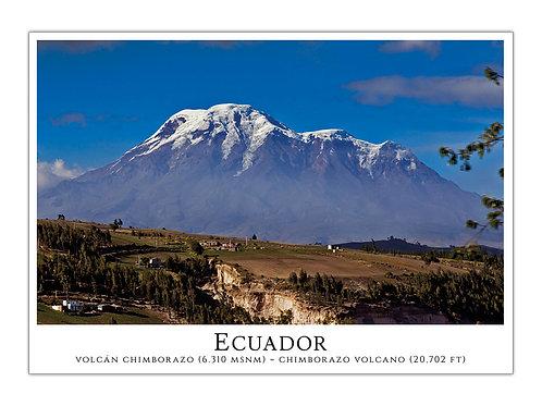 Ecuador - Volcán Chimborazo