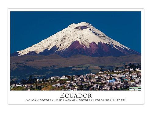 Ecuador - Volcán Cotopaxi I