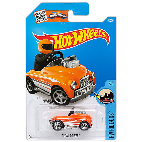 HW RIDE-ONS - Pedal Driver