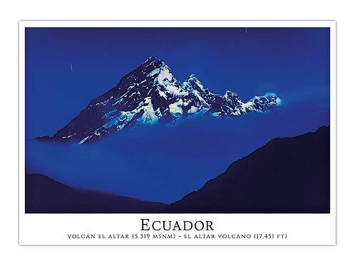 Ecuador - Volcán El Altar