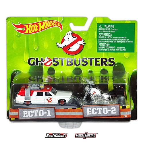GHOSTBUSTERS - ECTO-1 & ECTO-2