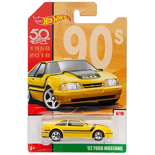 THROWBACK - '92 Ford Mustang