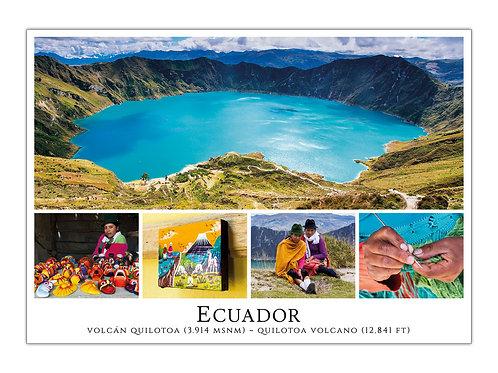 Ecuador - Volcán Quilotoa
