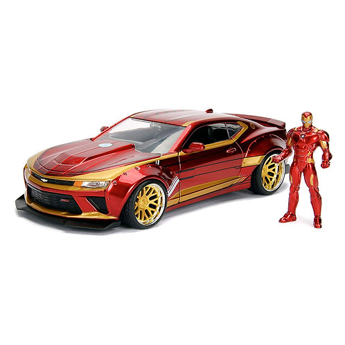 Iron Man & 2016 Chevy Camaro